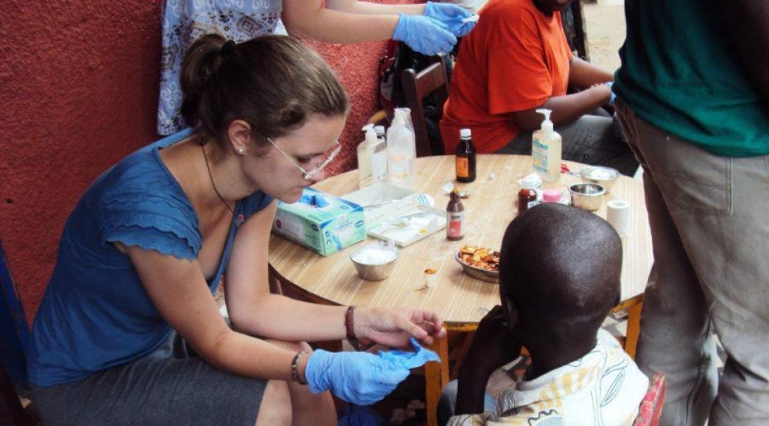 Hannah U in Ghana
